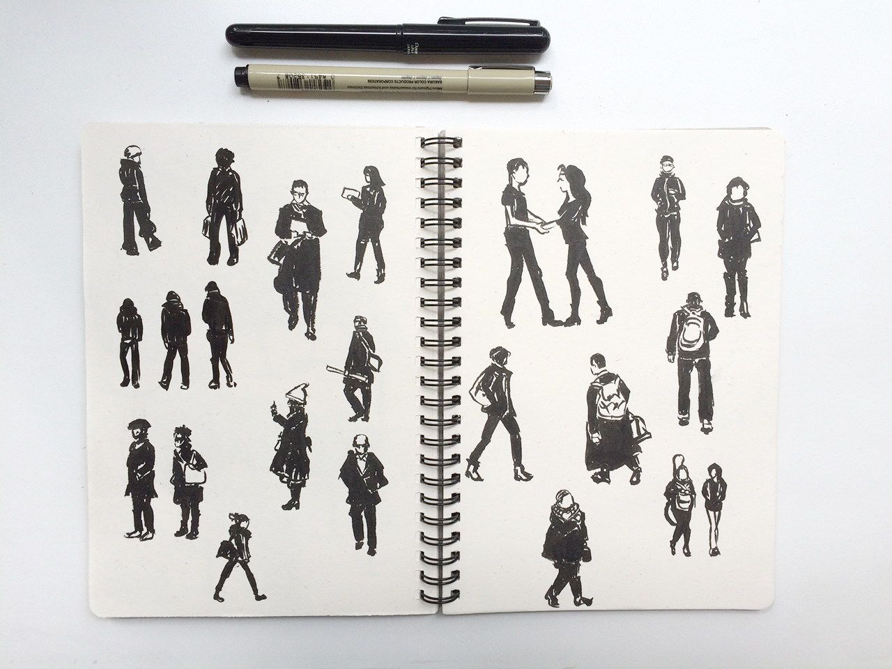 peoplebrushpen