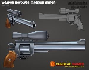 Texture weapon-revolver-magnum-sniper logo