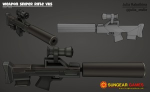 Texture weapon-sniper-rifle-vks