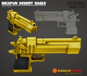 Texture weapon desert eagle logo