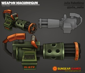 Texture weapon machinegun logo